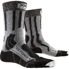 X-Socks Trek Pioneer Calcetines Mujer, opal black/flocculus white